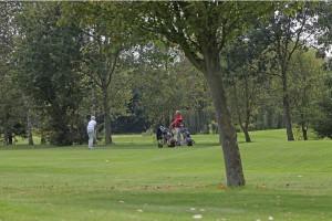 Hole 10 golfers_baan-Golfclub Flevoland