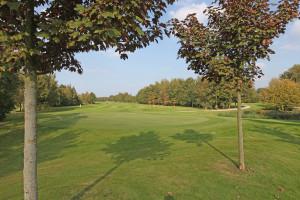 Hole 10 green-Golfclub Flevoland