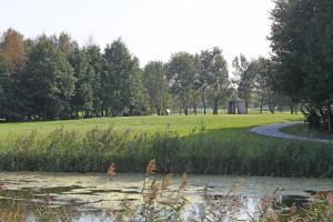 Hole 16 (10) tee 1-Golfclub Flevoland