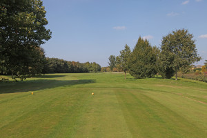 Hole 17 (11) tee-Golfclub Flevoland
