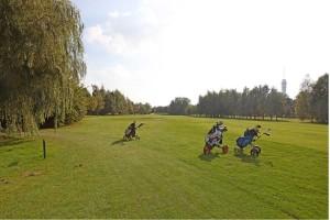Hole 8 (8) fairway-Golfclub Flevoland