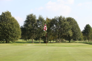 Hole 9 (9) green 2-Golfclub Flevoland