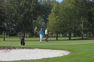 Hole 9 (9) green-Golfclub Flevoland