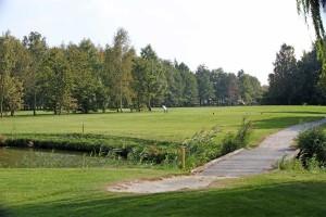 Hole 9 (9) tee-Golfclub Flevoland